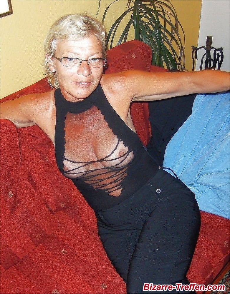 Blonde Oma Milf